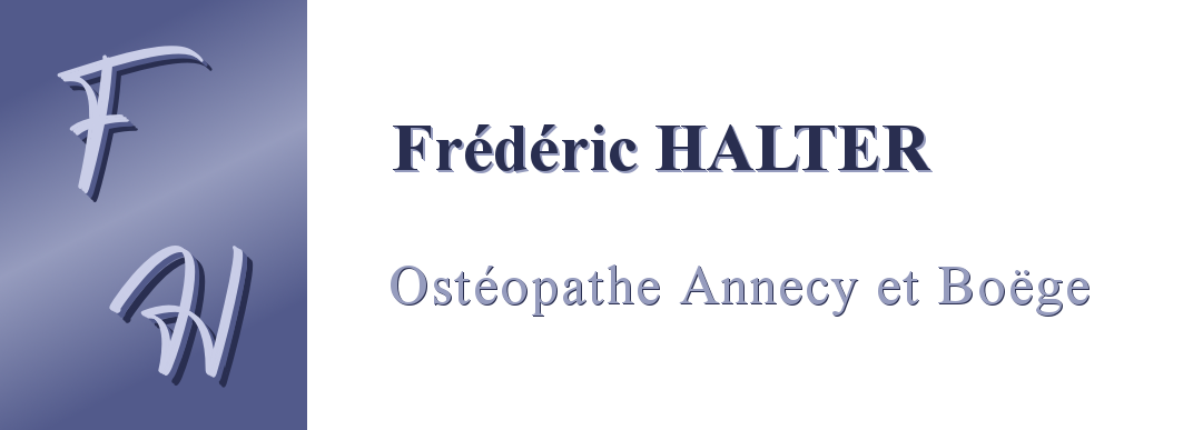 Annecy Boëge Ostéopathie - Frédéric HALTER